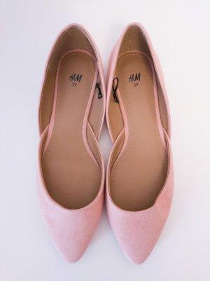 Ballerinas I spitz I H&M I 39 I NEU