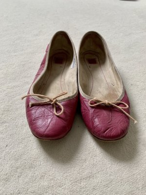 Mexx Ballerina Mary Jane bordeaux-rosso lampone
