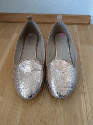 Ballerinas in rosegold