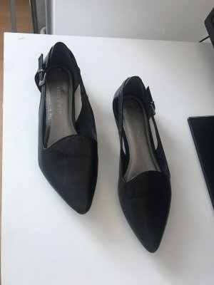 Marco Tozzi Zapatos formales sin cordones negro