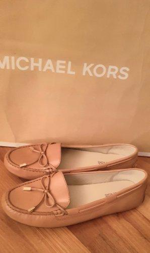 Michael Kors Ballerine en pointe brun sable-marron clair