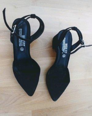 Truffle Collection Bailarinas con punta negro