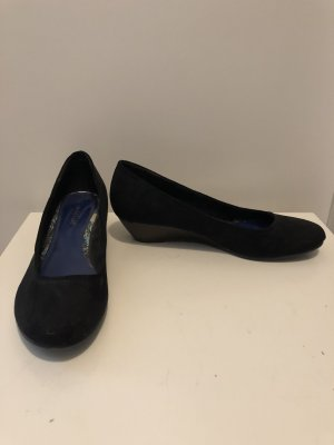 van der Laan Mary Jane Ballerinas black