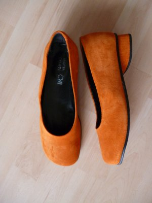 Andrea Conti Ballerina arancione