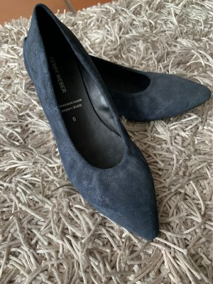 Gerry Weber Ballerinas with Toecap slate-gray