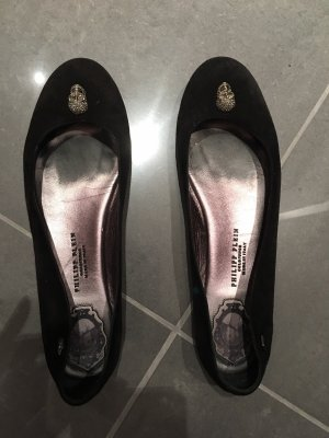 Philipp Plein Mary Jane Ballerinas black