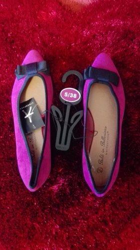 Ballerinas Pink Gr. 38 NEU