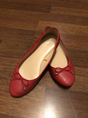 Mary Jane Ballerinas red