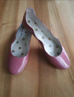 Boden Patent Leather Ballerinas light pink-pink