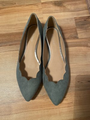 Anna Field Ballerinas with Toecap sage green
