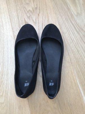 H&M Foldable Ballet Flats black