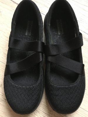 Sketchers Strappy Ballerinas black