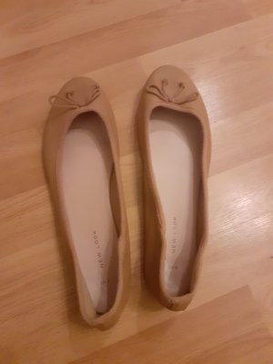 New Look Slingback Ballerinas beige