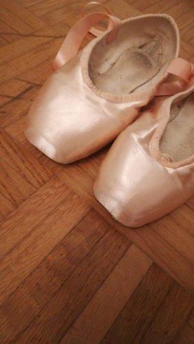 Bloch Zapatos Oxford con puntera rosa