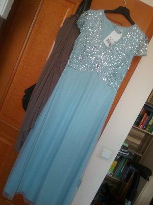 Heine Vestido de baile azul celeste