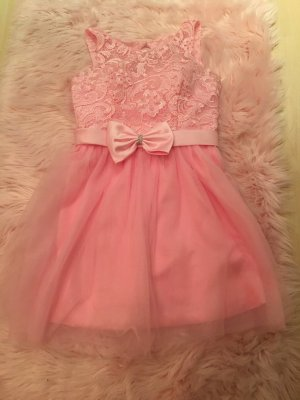 Robe de bal rose