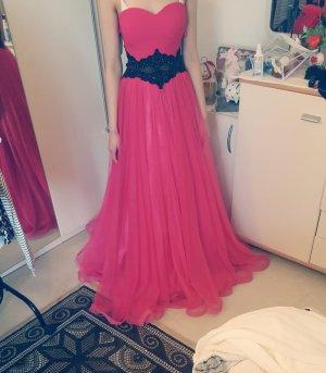 Maßanfertigung Suknia balowa różowy