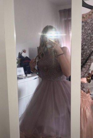 Laona Vestido de baile color rosa dorado