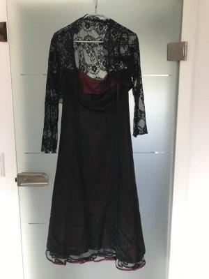 C&A Clockhouse Vestido de baile burdeos