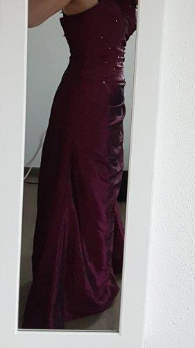 Robe de bal violet