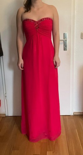 Vera Mont Vestido de baile rojo frambuesa