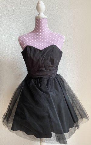 Sukienka z rękawem balonowym czarny