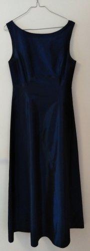 C&A Vestido de baile azul-azul oscuro Poliéster