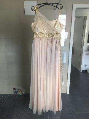 Ballkleid Abendkleid Hennakleid nude gold Gr L 40 wie neu
