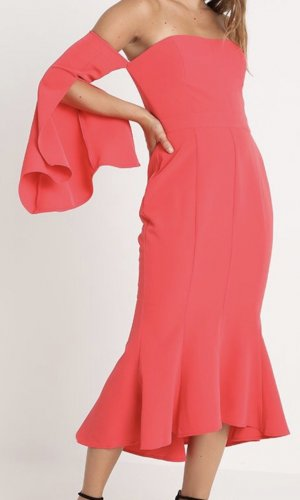 Ballkleid Abendkleid Party Kleid Forever New Watermelon Red Gr. 38 Neu