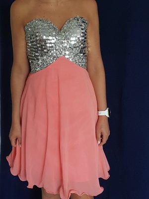 Sukienka z gorsetem łosowiowy