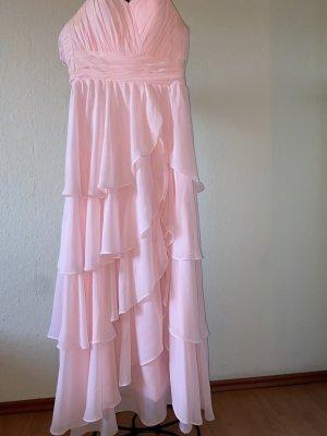 Robe de bal rose clair