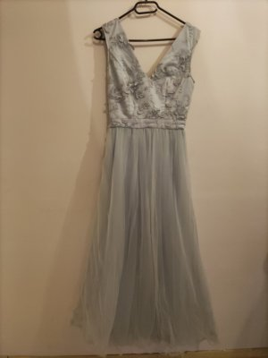 ChiChi London Ball Dress pale blue polyamide