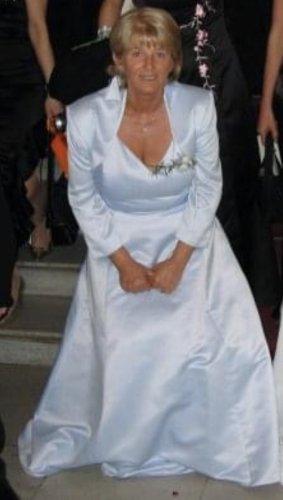 Marco Pecci Suknia balowa błękitny