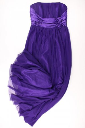 Bandeaujurk lila-mauve-paars-donkerpaars Polyester