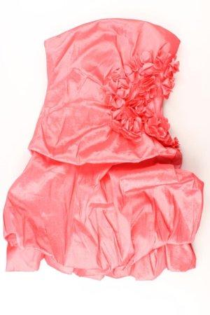 Bandeaujurk lichtroze-roze-roze-neonroos