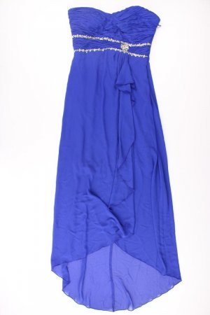 Bandeau Dress blue-neon blue-dark blue-azure