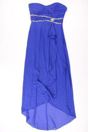 Robe bandeau bleu-bleu fluo-bleu foncé-bleu azur