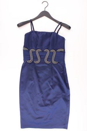 Ballkleid Größe 34 neu mit Etikett Neupreis: 189,95€! Träger blau aus Polyester