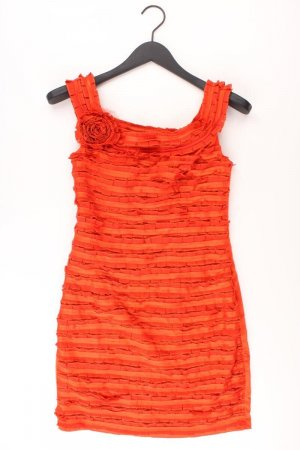 Ballkleid Größe 34 neu mit Etikett Träger orange