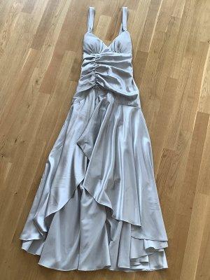 Vestido de baile gris claro Poliéster