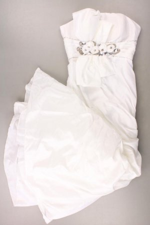 Bandeau Dress natural white polyester