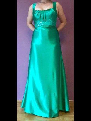 Ballkleid Hochzeitskleid lang grün