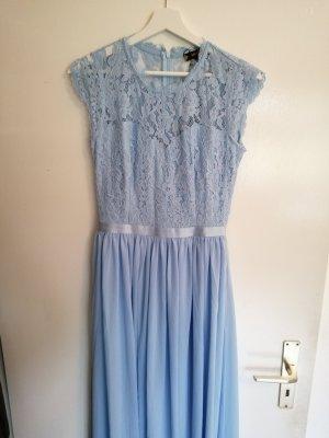 Miusol Vestido de baile azul bebé