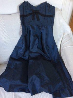 Joy Robe de bal bleu foncé-noir