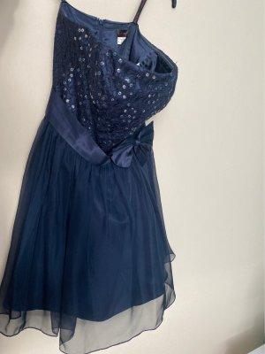Laona Robe de bal bleu foncé-bleu