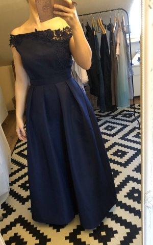 Little Mistress Vestido de baile azul