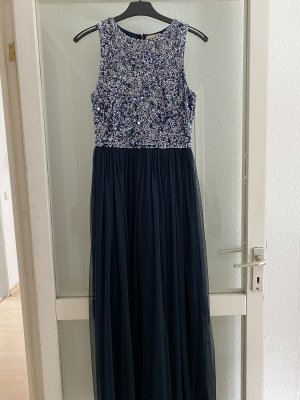 Lace & Beads Suknia balowa ciemnoniebieski