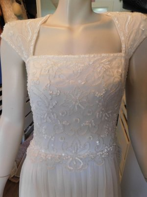 Anna Field Wedding Dress white