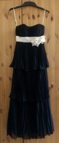 El Corte Ingles Robe de bal noir-blanc