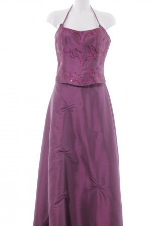 Ball Dress violet-purple polyester